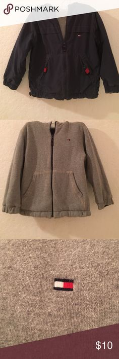 Boys Tommy Hilfiger Reversible Jacket Boys. Timmy Hilfiger. Reversible. Has a good. Size 6. Very thick. Good for winter or spring weather. Tommy Hilfiger Jackets & Coats Puffers
