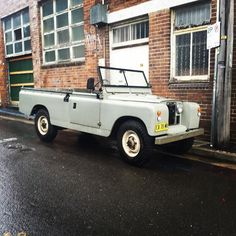 Land Rover 109 Serie II. Pickup.