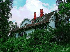 Ainola - Photo by Pjotr I (Pekka Soininen), via Flickr Romantic Period, Denmark, Norway, Past, Films, Mansions, House Styles, Places, Music