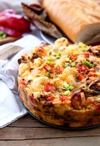 Hatch Green Chile Breakfast Casserole Recipe Breakfast and Brunch with french… What's For Breakfast, Breakfast Dishes, Breakfast Casserole, Breakfast Recipes, Breakfast Energy, Breakfast Options, Paleo Breakfast, Cinnamon Roll Muffins, Cinnamon Rolls