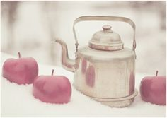 :: apple in snow ::