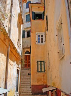 """ ~ Corfu - Old town ~  ""  photo by Ava Babili"