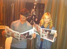 Steven R McQueen and Candice Accola Serie The Vampire Diaries, Vampire Diaries Wallpaper, Vampire Diaries Funny, Vampire Diaries The Originals, Caroline Forbes, The Cw, Steven Mcqueen, Teenage Drama, The Salvatore Brothers