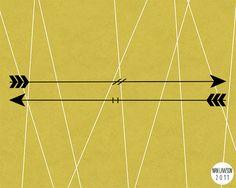 Nan Larson Arrow print