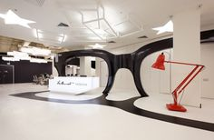 A Giant Pair Of Glasses Fills This Office In Moscow
