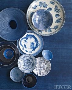 Me too!  ~ahh, my eternal love affair with blue & white dishes. I blame my childhood set.  many-a-cool-lady seem defenseless against a similar infatuation, including my mom.