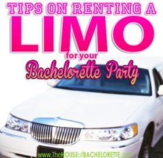Tips on Renting a Limo for your Bachelorette Party
