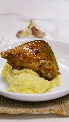 Chicken with Honey of Garlic recipes recipeoftheday easy eat recipe eat food fashion diy decor dresses drinks I Love Food, Good Food, Yummy Food, Tasty, Breakfast Recipes, Dinner Recipes, Fall Recipes, Cooking Recipes, Healthy Recipes