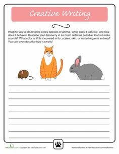 creative writing skills for grade 5 Writing a 5 w's story ideas for fictional stories often come from a writer's real-life experiences change a few parts of the experience, and a story is born see how one writer created a story idea by using a 5 w's chart.