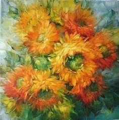 It's not Vincent van Gogh ~ Dutch painter, it's Anna Homchik, 1976 Vincent Van Gogh, Renoir, Van Gogh Arte, Van Gogh Paintings, Art Van, Post Impressionism, Dutch Artists, Arte Floral, Paul Gauguin