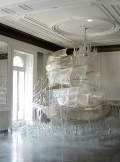 likeafieldmouse:    Rhea Thierstein- Ice Boat (2011)