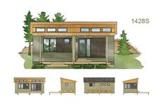 Cottage-in-a-Day - Eco Residential (pre-fab) Ready Structures - Craven Construction