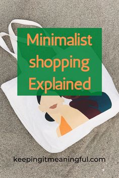 Minimalist shopping tips that will change the way you go about shopping and make it so much more intentional and enjoyable. Click this pin to learn more.