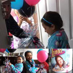 Canasta picnic personalizada con Soy Luna!  Un regalo especial para una personita muy especial!  Feliz Cumpleaños!