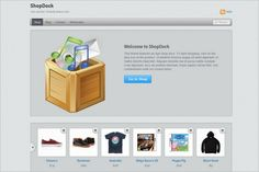 ShopDock is a new shopping WordPress Theme by Themify.
