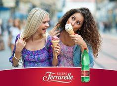 Essere Ferrarelle. Una rubrica di engagement per raccontare con un'immagine cosa vuol dire essere Ferrarelle.