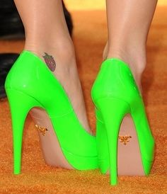 Go Green like green heels 3183 |2013 Fashion High Heels|