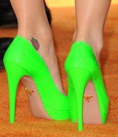 Go Green like green heels 3183 |2013 Fashion High Heels|