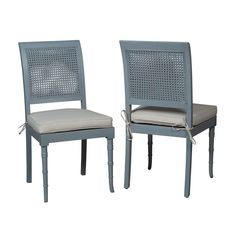 Savona Side Chair Blue (Set of 2)