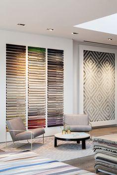Our new showroom in San Francisco #sanfrancisco #modern #clean #light #rug #showroom