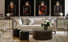interior design Rustic Elegance, Rustic Feel, Curtains Made Simple, Cushion Arrangement, Coffee Table Grey, Cloud Cushion, Pink Cushions, Rustic Stone, Neutral Color Scheme
