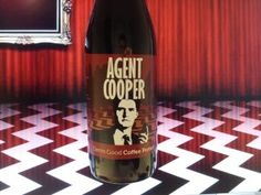 Beer inspired by Agent Cooper, available in the Netherlands, Belgium, Germany, France and Italy.