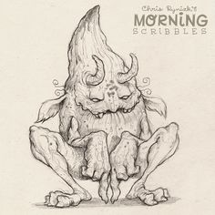 Some good, ol' fashioned mischief is about to go down... #morningscribbles | 출처: CHRIS RYNIAK