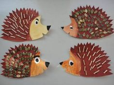 Výsledek obrázku pro vyrábíme s dětmi podzim Fall Crafts For Kids, Projects For Kids, Art For Kids, Art Projects, Jute Crafts, Diy And Crafts, Arts And Crafts, Daycare Crafts, Toddler Crafts