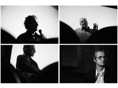 Directores de cine colombiano de visita en Barcelona.