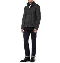 Dolce & GabbanaChunky Cable-Knit Cardigan|MR PORTER
