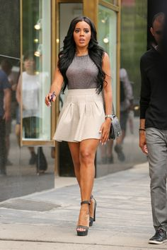 Angela Simmons - she will be my guide to my journey to young grown woman style lol