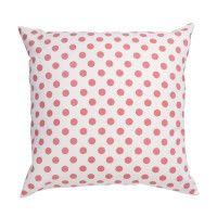Coral Dot Pillow