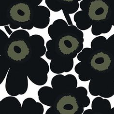 Unikko 396x27.6 Black White, $125, now featured on Fab.