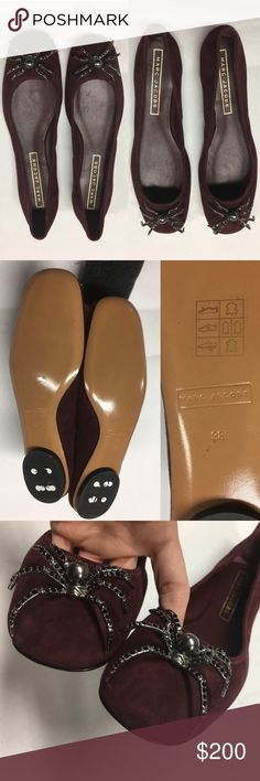 1920154c483 Tory Burch Shelby Ballet Flats. Size 6.5