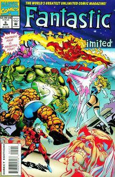 Fantastic Four Unlimited # 5 by Claudio Castellini
