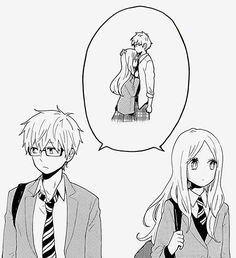 I'm reading this super cute manga called Hibi Chouchou and its so cute! It's about two shy people who fall in love but they are to shy to tell one another how they feel