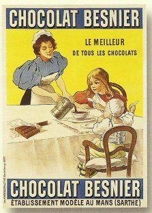chocolat besnier vintage