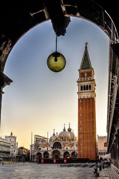 Campanile di San Marco at Piazza San Marco #Venice #Italy
