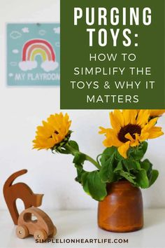 Purging Toys: How to Simplify the Toys & Why it Matters. Simple tips to declutter the toys, including practical advice on how to do it, why it matters & how it will help simplify your home. Check out the post if you're looking for some encouragement and inspiration to simplify the toys in your home! #purgingtoys #declutteringtoys #howtodecluttertoys #simplifythetoys #declutteringwithkids Declutter Bedroom, Declutter Your Home, Organizing Your Home, Playroom Organization, Bathroom Organisation, Organization Ideas, Minimalist Room, Minimalist Lifestyle, Minimalist Parenting