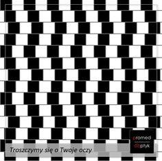 Wkurzające proste linie. ...a może nie są proste? #optyk #optometrysta #okulista #okulary #iluzja #zabawa #fun #wzrok Tech Companies, Company Logo, Logos, Simple Lines, Logo