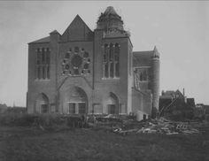 Bouw van de Kathedraal aan de Leidsevaart