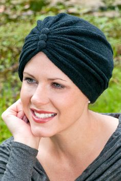 Terry cloth chemo turbans