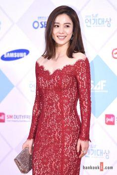 Kim Hyun Joo at the SBS Drama Awards 2015 red carpet. Moon Geun Young, Han Byul, Gong Seung Yeon, Namgoong Min, Kim Rae Won, Korean Shows, Star Awards, Yook Sungjae, New Star
