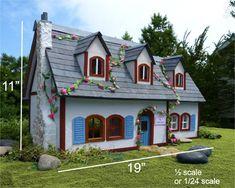 Libro casa de muñecas con plantillas e por PaperCottagePrinties