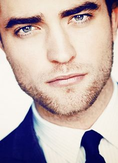 Robert Pattinson..Normally I do not find him attractive, but I do in this picture for some reason...