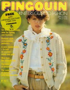 Ace And Jig, Knitting Magazine, Catalogue, Knit Or Crochet, Man In Love, Crochet Patterns, Fair Isles, Pullover, Denim