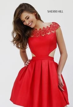 Awesome red Sheri hill dress