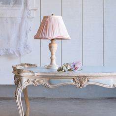 Shabby chic decor~ really more like French antique for the most part! Love it.
