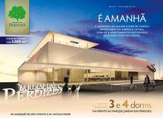 É amanhã! Abertura do maior Stand de Vendas Imobiliário da América Latina. Convidamos vocês! Conheça o bairro Jardim das Perdizes.