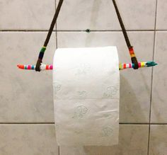 DIY and cheap toilet paper holder ideas - New Decoration ideas Wooden Toilet Paper Holder, Toilet Paper Humor, Toilet Paper Stand, Toilet Paper Storage, Toilet Roll Holder, New Toilet, Diy Paper, Bathroom Accessories, Bathroom Remodeling